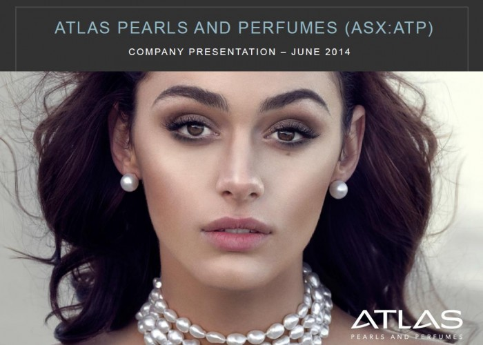 Atlas Pearls and Perfumes (ASX: ATP) Releases New Company Presentation